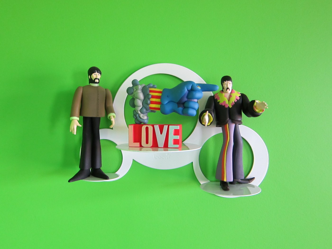Beatles Figurines Vignette