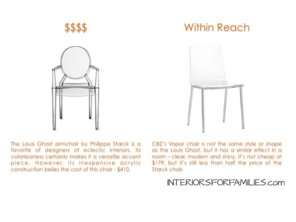 Starck Louis Ghost Chair