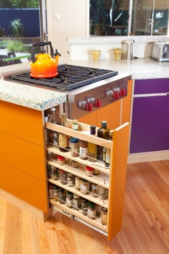 Vertical Spice Drawers