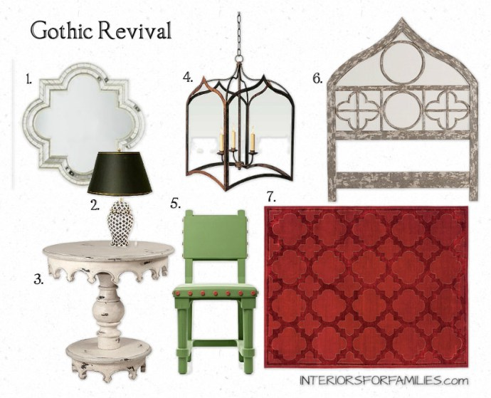 Gothic Revival Board