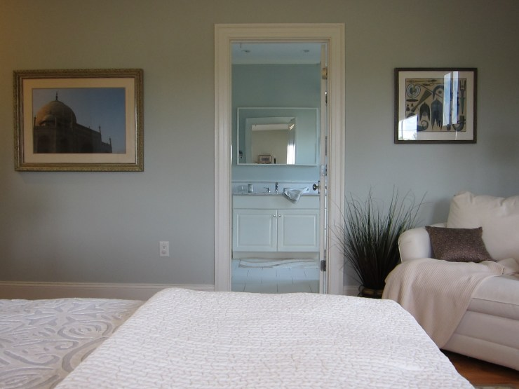 Master Bedroom - View into the Bathroom