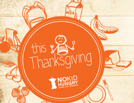 No Kid Hungry this Thanksgiving