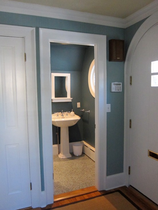 Powder Room from Foyer