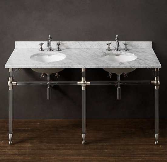 Gramercy Double Glass Washstand
