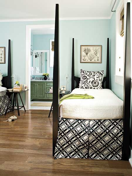 Guest Room via Southern Living