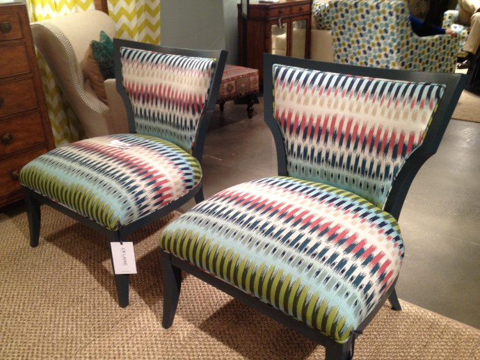 CR Laine Accent Chairs in Sunbrella #hpmkt