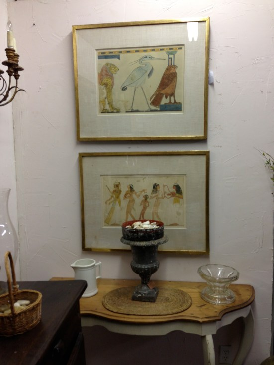 Vintage Egyptian Prints - Berkshire Home & Antiques