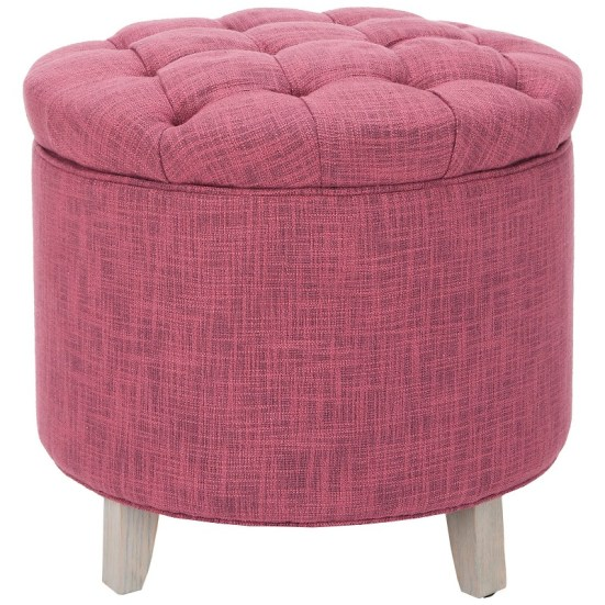 Safavieh Amelia Storage Ottoman - 10 High-Style Storage Ottomans | Interiors For Families