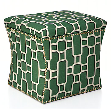 10 High Style Storage Ottomans Interiors For Families