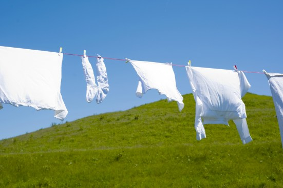 Whites Line Drying