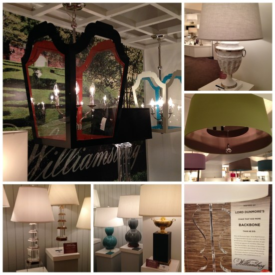 Williamsburg Collection @ Robert Abbey | #hpmkt Spring 2014 | via Interiors For Families