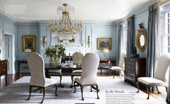 Suzanne Kasler in Veranda Magazine | via Interiors for Families