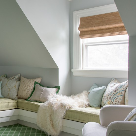 National Window Covering Safety Month   Horizons Cordless Woven Shades   Interiors for Families   Kelly Rogers Interiors