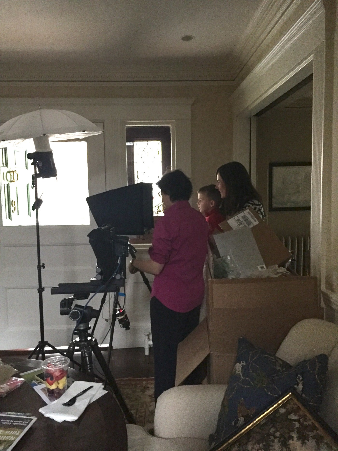 Behind the Scenes: My HGTV Magazine Photo Shoot   Kelly Rogers Interiors   Interiors for Families