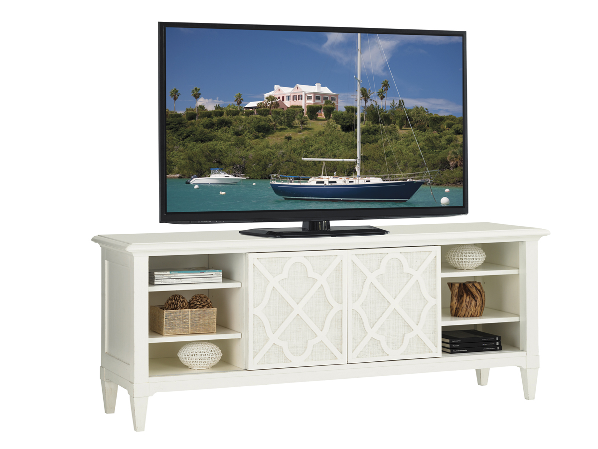 Lexington Warf Street Entertainment Console   Friday Family-Friendly Find   Interiors for Families
