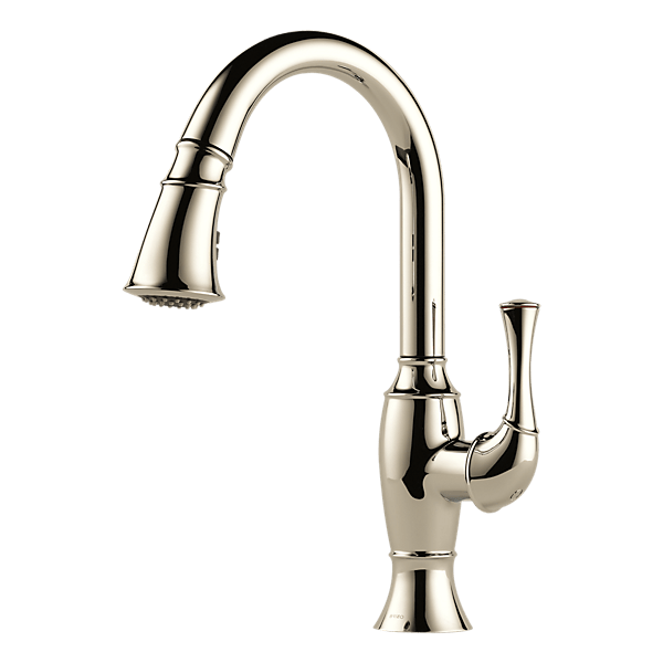 Friday Family-Friendly Find: Brizo Talo Brilliance SmartTouch Pull-Down Kitchen Faucet   Interiors for Families