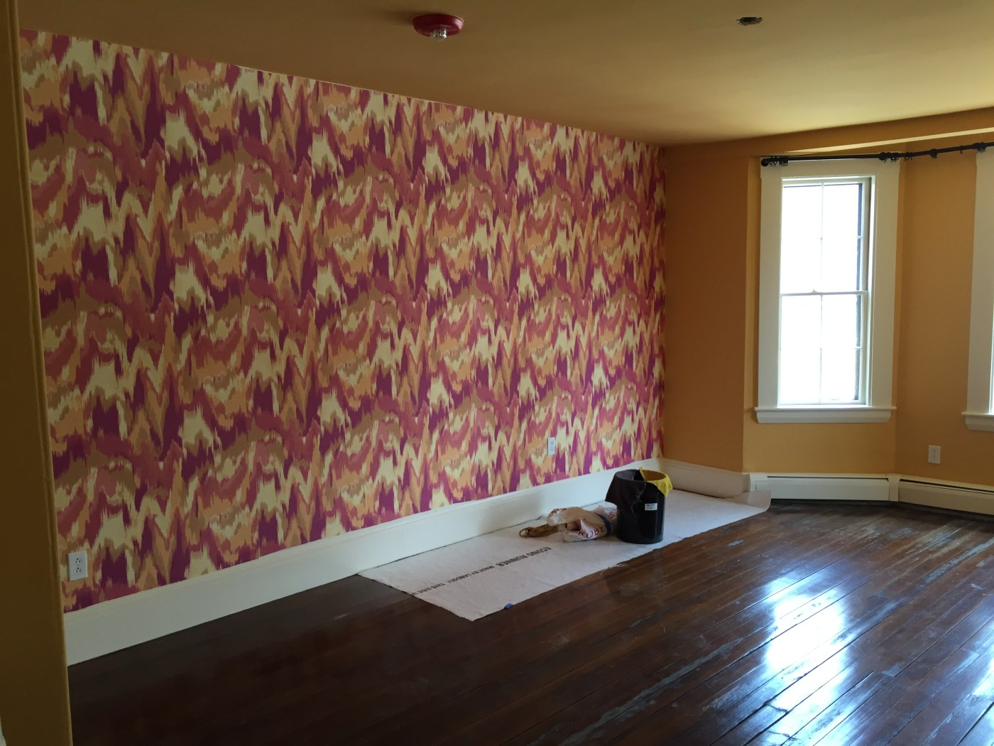 Before: Mother-in-Law Suite at the Junior League of Boston 2016 Show House   Kelly Rogers Interiors