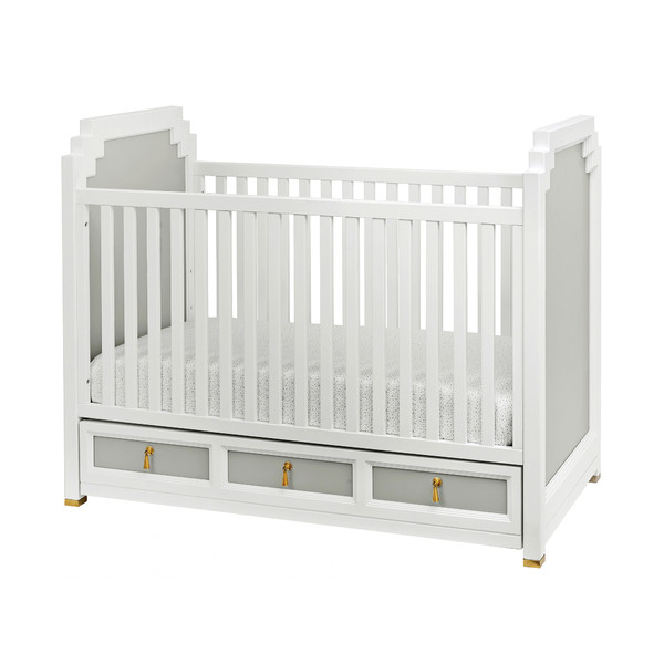 Friday Family-Friendly Find: DwellStudio Vanderbilt Convertible Crib | Interiors for Families