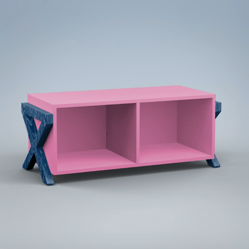 Friday Family-Friendly Find: ducduc Campaign Stacking Cubby | Interiors for Families
