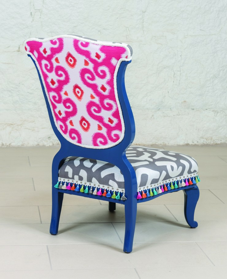 """Before & After: """"The Yes Chair"""" for IFDA Take a Seat   Kelly Rogers Interiors   Interiors for Families"""