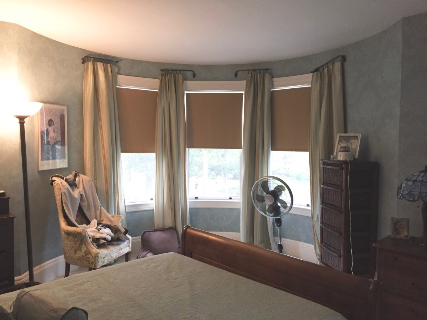 [BEFORE] Room Reveal: Fresh Victorian Master Bedroom   Kelly Rogers Interiors   Interiors for Families