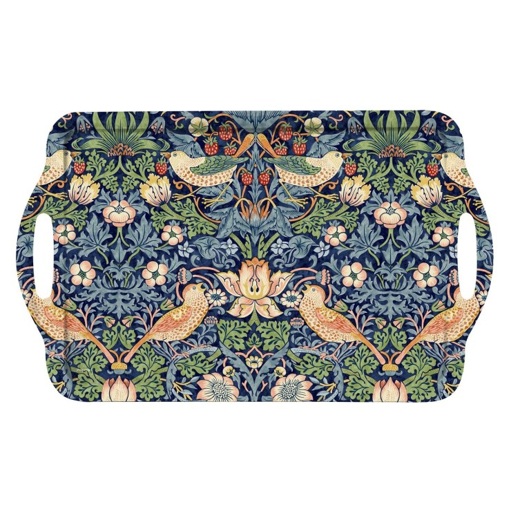 Friday Family-Friendly Find: William Morris & Co Strawberry Thief Tray | Interiors for Families | Blog of Kelly Rogers Interiors