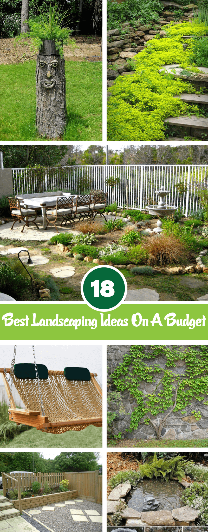 18 Inexpensive Landscaping Ideas For Your Backyard ... on Inexpensive Backyard Landscaping id=49248
