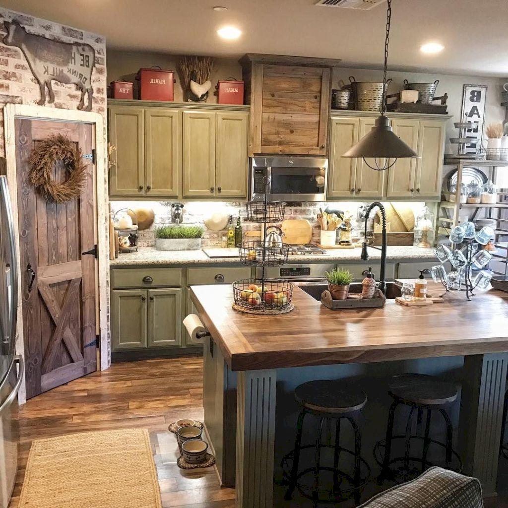 34 Great Farmhouse Kitchen Decor Ideas - InteriorSherpa on Farmhouse Kitchen Ideas  id=49832