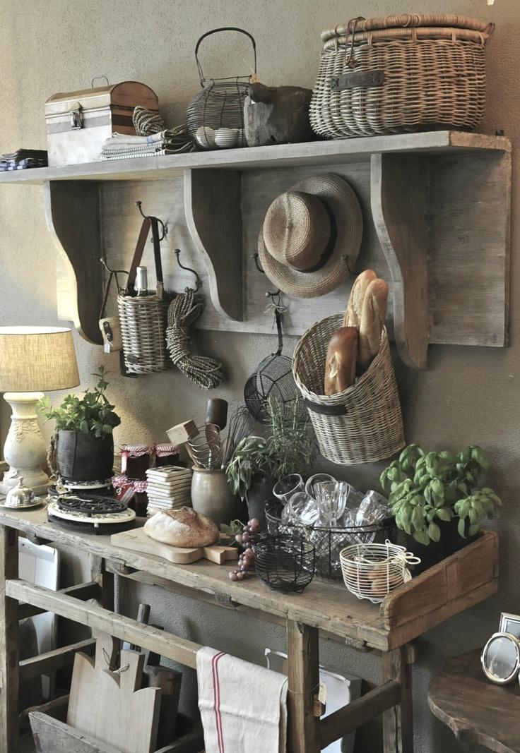 Country Farmhouse Kitchen Decor