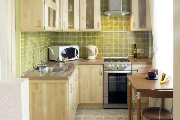 8 хитростей грамотного дизайна маленькой кухни