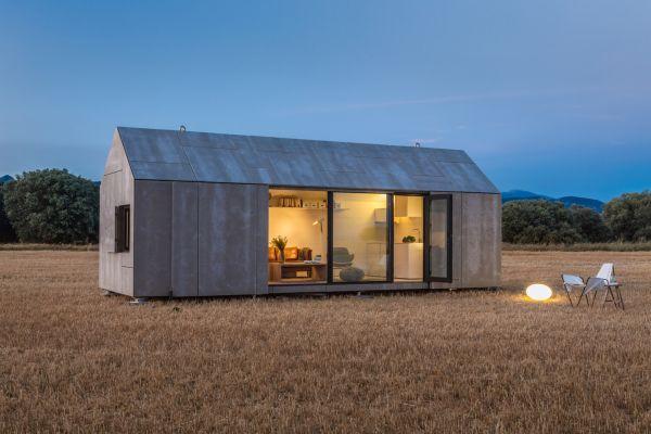 Išvaizda mažos mobiliosios namo
