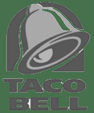 Taco Bell Logo BW