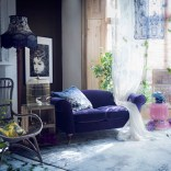 Watercolour living room