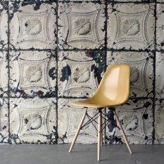 Wallpaper Brooklyn Tin Tile from Rockett St George