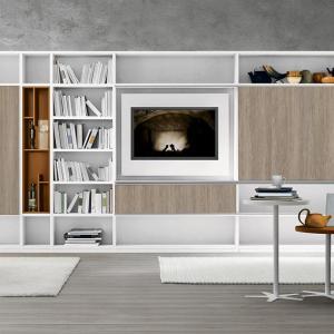 LIVING 435 - bibloiteca moderna