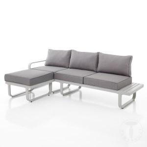 ISCHIA Outdoor- canapea terasa, mobila exterior
