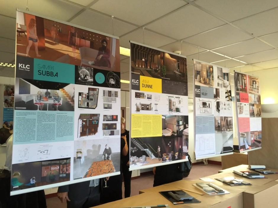 Klc School Of Design Graduate Exhibition Private View