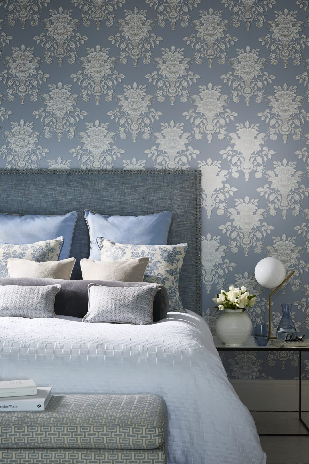 4 Wedgwood Home - Fabrics & Wallcoverings by Blendworth Tonquin Weave 4, Renaissance Weave 1, Tonquin Wallcovering 5