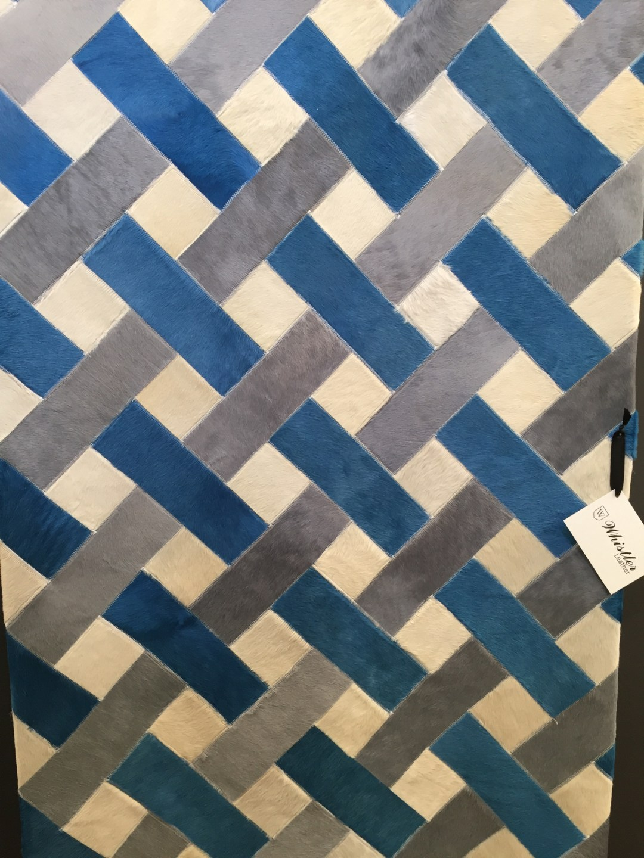 whistler leather woven rug decorex