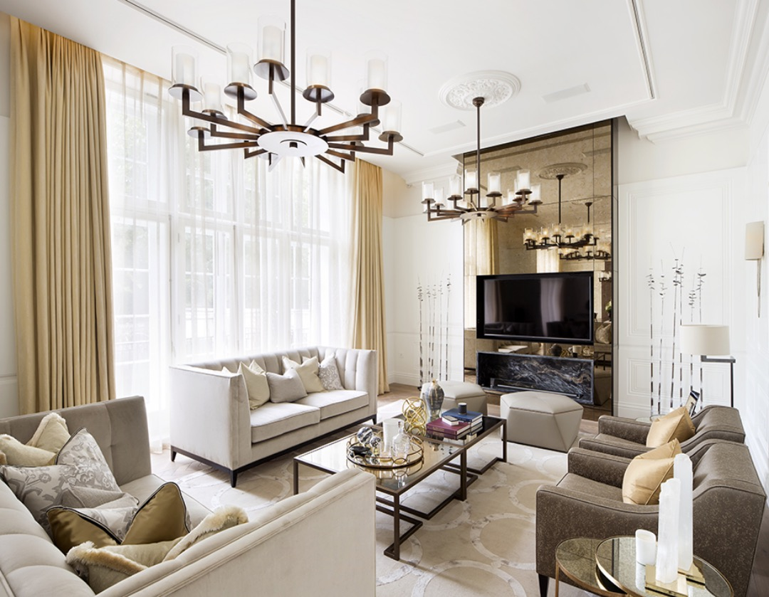 Tour Of A Georgian Apartment In Mayfair Designed By 1508