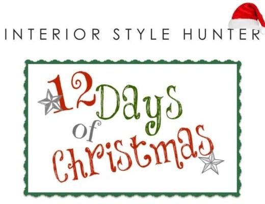 interior style hunter 12 days of christmas
