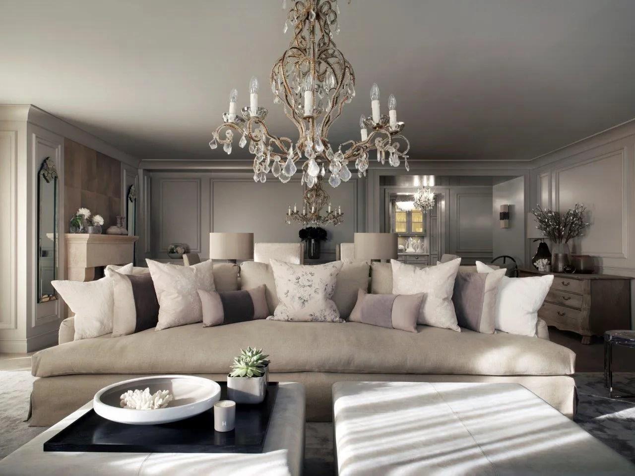 A luxury swiss chalet designed by Kelly Hoppen