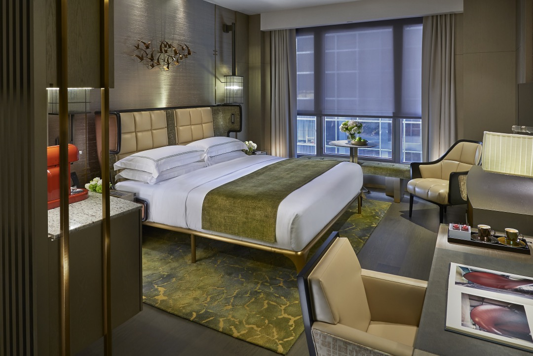Landmark Mandarin Oriental Hong Kong Joyce Wang Suites Bedroom