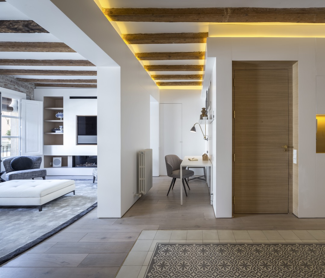 Barcelona Apartments: Barcelona Apartment Designed By Anke Summerhill, Creative