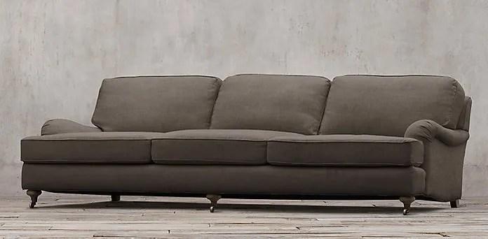 English Rolled Arm Sofa & 5 Sofa shapes explained