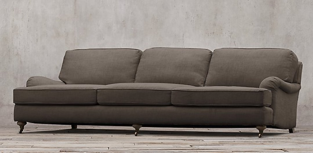 English Rolled Arm Sofa