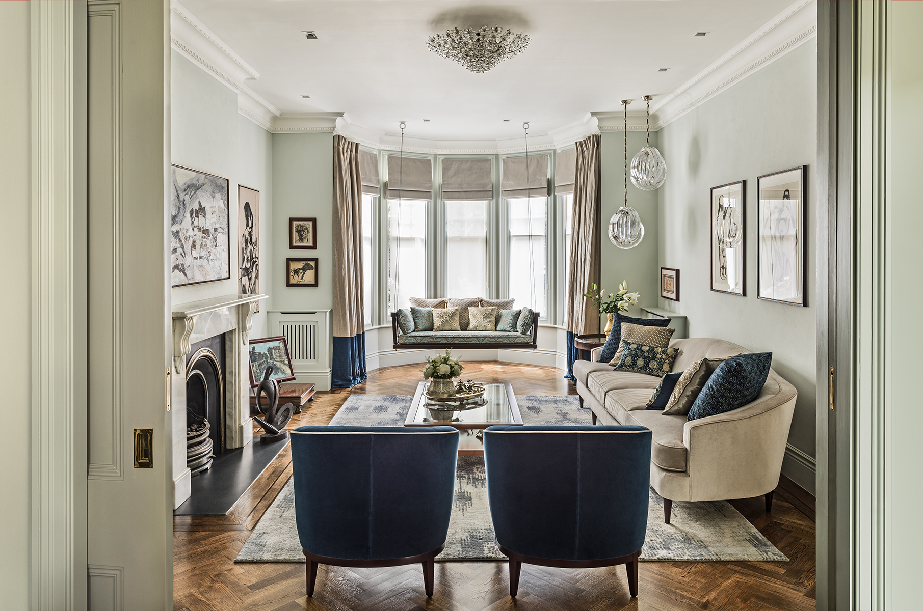 Top 12 interior design living room ideas from the best uk for Best british interior designers