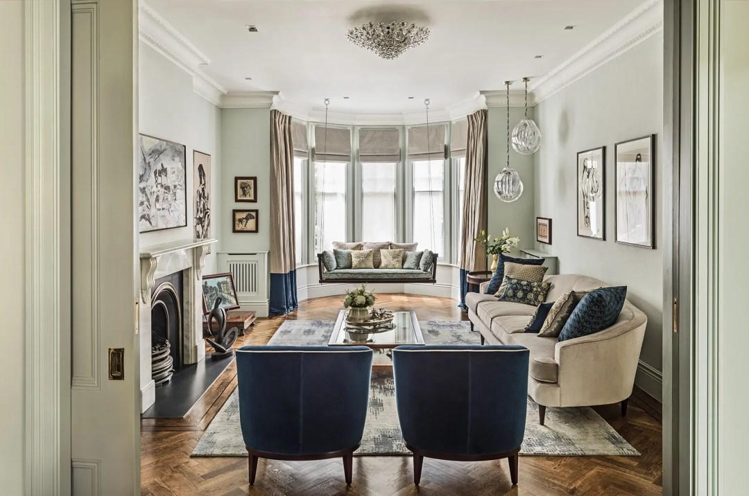 Top 12 interior design living room ideas from the best UK interior