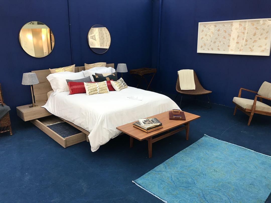 living in blue, the interior style hunter roomset at the house and