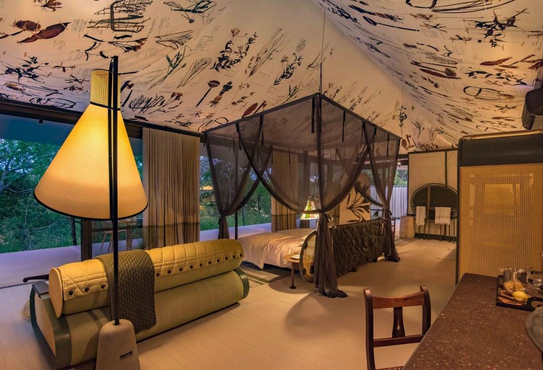 luxury interior design in the wild